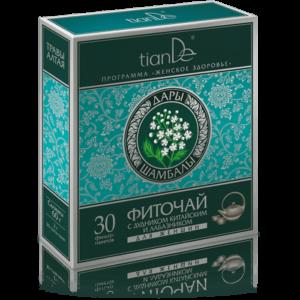 herbata arcydziegiel chinski tiande center 300x300 - Herbatka ziołowa z dzięgielem chińskim i wiązówką dla kobiet – suplement diety