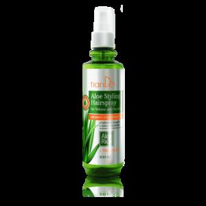 """lakier do stylizacji tiande center 300x300 - Spray do stylizacji włosów z aloesem """"Objętość i elastyczność"""""""