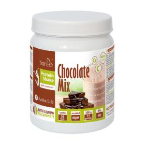 mix czekoladowy tiande center 300x300 - Czekoladowy koktajl-mix proteinowy ze słodzikiem