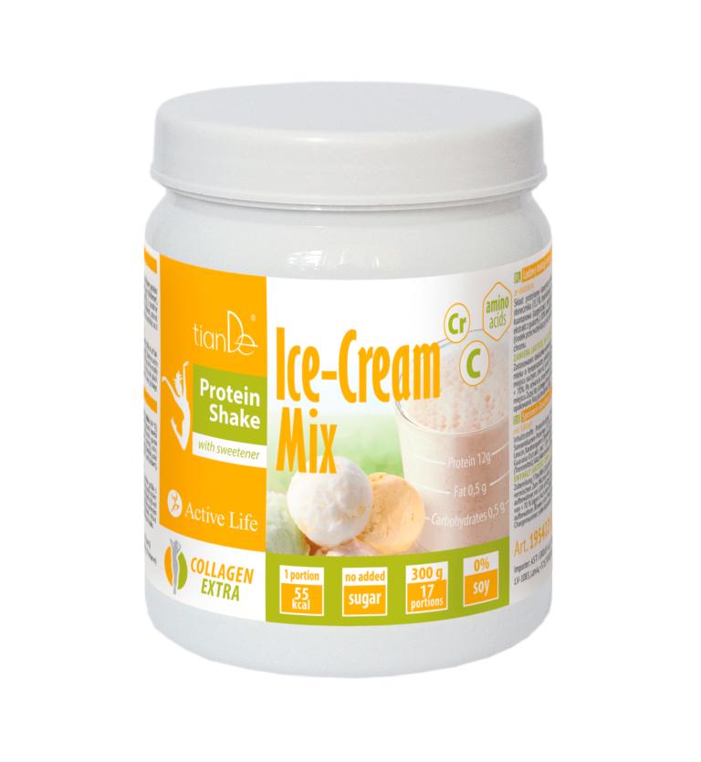 mix protein tiande center 768x835 - Lodowy koktajl-mix proteinowy ze słodzikiem