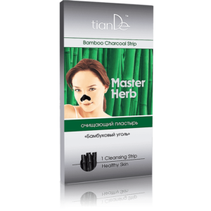 oczyszczajacy plaster na nos tiande center 300x300 - Plaster oczyszczający na nos Węgiel bambusowy