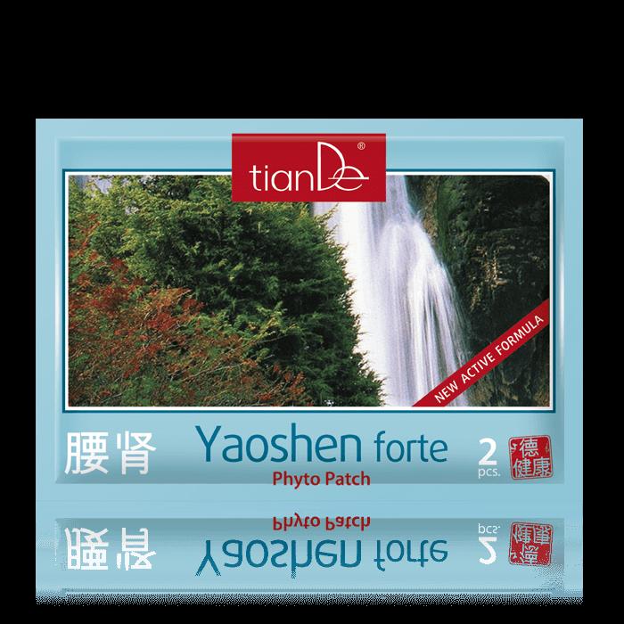 """plaster yaoshen forte tiande center - Kosmetyczny plaster ziołowy do ciała """"Yaoshen Forte"""""""