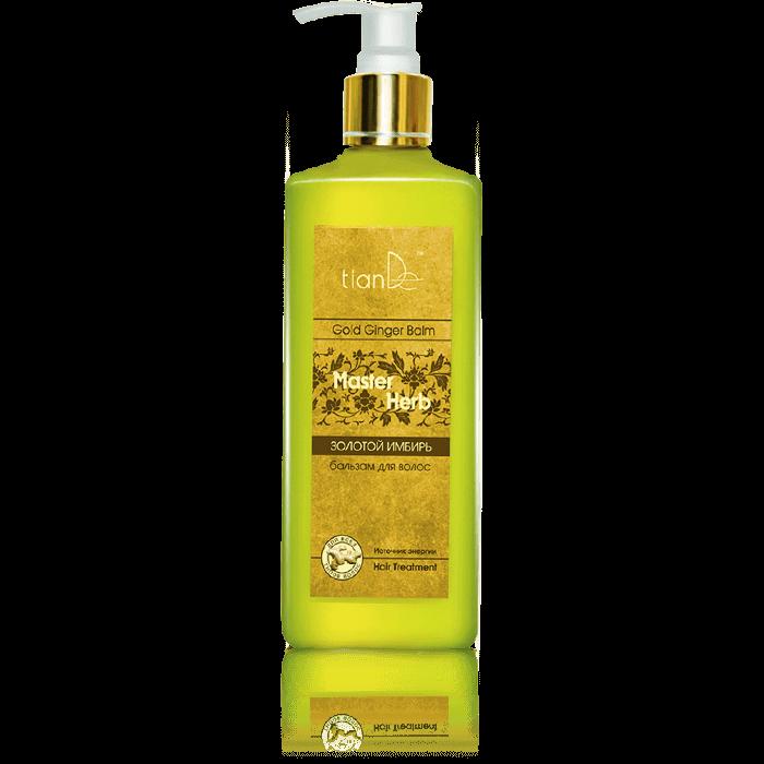 szampon receptura chinska tiande center - Balsam do włosów Złoty imbir