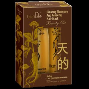 zestaw do wlosow tiande center 300x300 - Zestaw z ekstraktem z żeń-szenia: szampon i maska do włosów