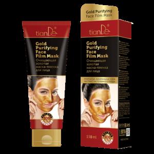 zlota maska tiande center 300x300 - Oczyszczająca złota maska foliowa do twarzy