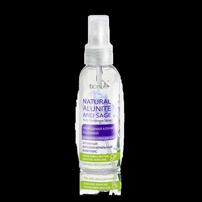 "dezodorant do ciala tiande center - Spray  ""Naturalny ałunit i szałwia"""