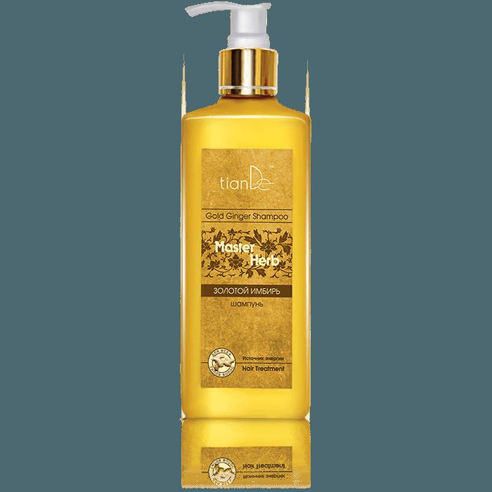 szampon imbir tiande center - Szampon do włosów Złoty imbir