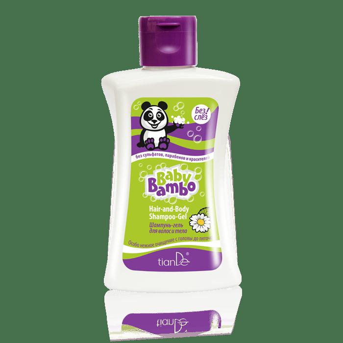 """20141s - Szampon-żel dla dzieci do mycia włosów i ciała """"Baby Bambo"""""""