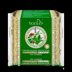 damskie wkladki nefrytowa swiezosc na bazie ziol na dzien super 10szt.tiande.center 300x300 - Damskie wkładki Nefrytowa świeżość na bazie ziół, na dzień, super 10 szt.